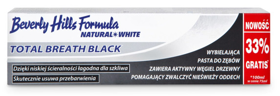 Beverly Hills Formula NATURAL WHITE Total breath black